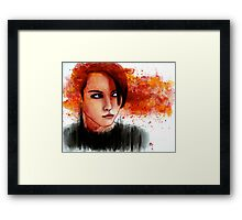The One Who Played With Fire Framed Print