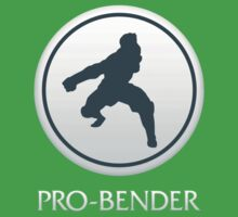 Pro-Bender (with text) One Piece - Short Sleeve