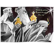 ♚ ☆ Gaspar, Melchior, and Balthasar,The Three Wise Men  ☆♚ Poster
