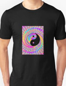 Tie Dye Psychedelic Yin Yang T-Shirt