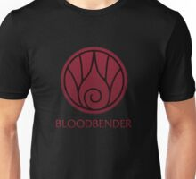 Bloodbender (with text) Unisex T-Shirt