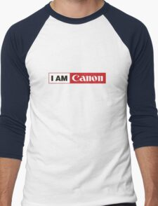 I AM CANON - Camera Shirt Men's Baseball ¾ T-Shirt