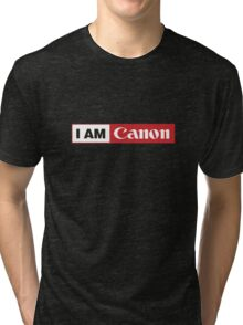 I AM CANON - Camera Shirt Tri-blend T-Shirt