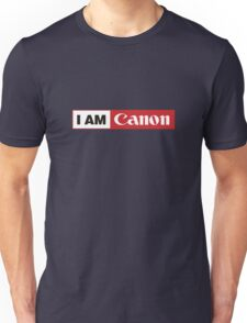 I AM CANON - Camera Shirt Unisex T-Shirt