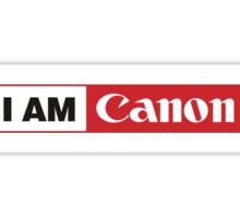 I AM CANON - Camera Shirt Sticker