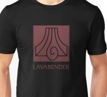 Lavabender (with text) Unisex T-Shirt