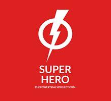 """Super"" Hero Logo - Dark Background Unisex T-Shirt"