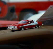 Toy Car Muslce starsky and hutch by Paul Boyle