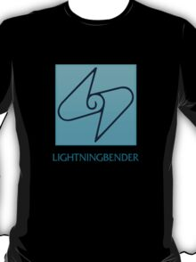 Lightningbender (with text) T-Shirt