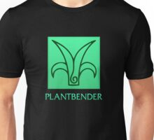 Plantbender (with text) Unisex T-Shirt