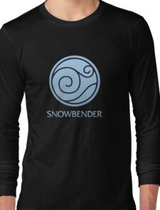 Snowbender (with text) Long Sleeve T-Shirt