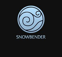 Snowbender (with text) Unisex T-Shirt