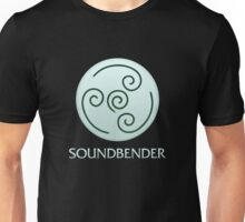 Soundbender (with text) Unisex T-Shirt