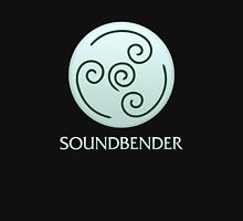 Soundbender (with text) Unisex T-Shirt