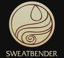 Sweatbender (with text) Kids Clothes