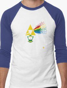 Link Floyd: the Dark Side of Hyrule Men's Baseball ¾ T-Shirt