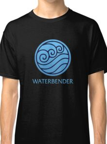Waterbender (with text) Classic T-Shirt
