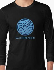 Waterbender (with text) Long Sleeve T-Shirt
