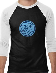Waterbender Men's Baseball ¾ T-Shirt