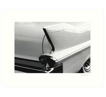 Cadillac Tail Art Print