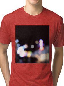 Colourful Bokeh Tri-blend T-Shirt