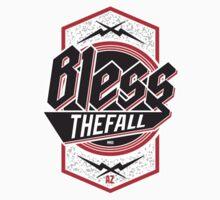 Blessthefall Shield Kids Tee