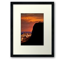 Zabriskie Point .2 Framed Print