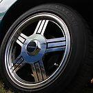 Camaro tyre alloy by Paul Boyle