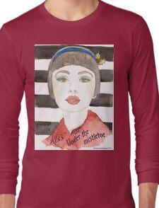 Mistletoe Girl Long Sleeve T-Shirt