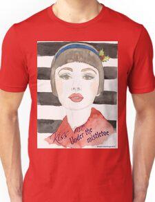 Mistletoe Girl Unisex T-Shirt
