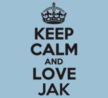Keep Calm and Love JAK Kids Clothes
