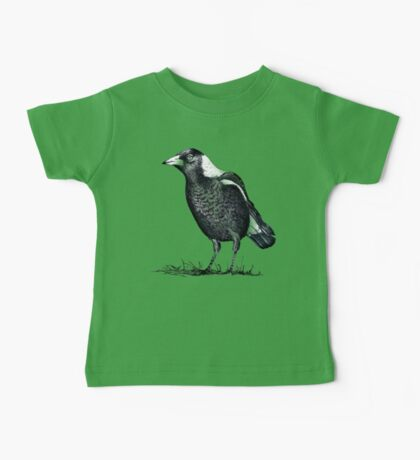Magpie - Dedicated to family Baby Tee