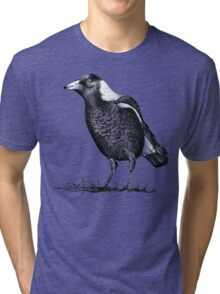 Magpie - Dedicated to family Tri-blend T-Shirt