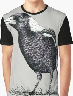 Magpie - Dedicated to family Graphic T-Shirt