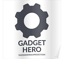 """Gadget"" Hero Logo - Light Background Poster"