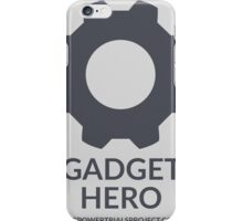 """Gadget"" Hero Logo - Light Background iPhone Case/Skin"