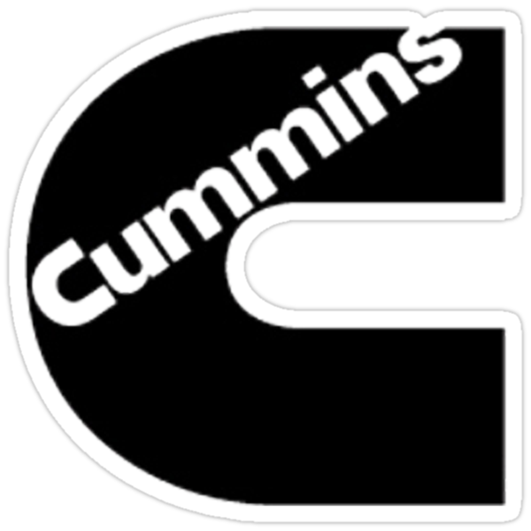 CUMMINS SHIRT black design by thatstickerguy