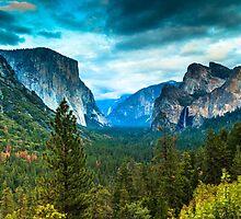 Inspiration Point Yosemite by bengraham