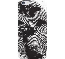 Globe Finger Print T-shirt: One Of A Kind iPhone Case/Skin