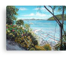 Long Island Beach, Australia Canvas Print