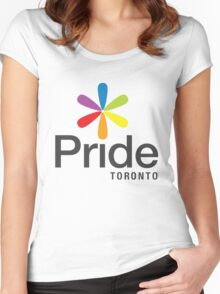 Pride Toronto Women's Fitted Scoop T-Shirt