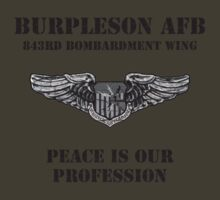 Burpleson AFB - Peace is our Profession by dennis william gaylor