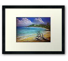 Unnawattuna Sri Lanka Framed Print
