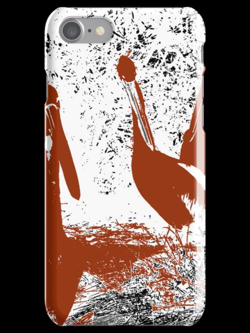 brown pelicans by Ashoka Chowta