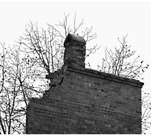 Decomposition Of A Building  Photographic Print