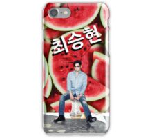 BIGBANG TOP_ Watermelon iPhone Case/Skin