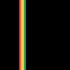 Rainbow Stripe - Black by ChoCho