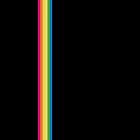Rainbow Stripe - Black by ChoCho