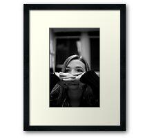 E.R.B.W. Framed Print