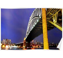 North Sydney From Under The Bridge Poster